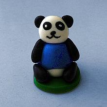 Hračky - Mini panda figúrka (v tričku) - 8035448_