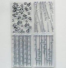 Pomôcky/Nástroje - Silikónové razítka, pečiatky - 10x15 cm - vzor, ornament - 8041656_