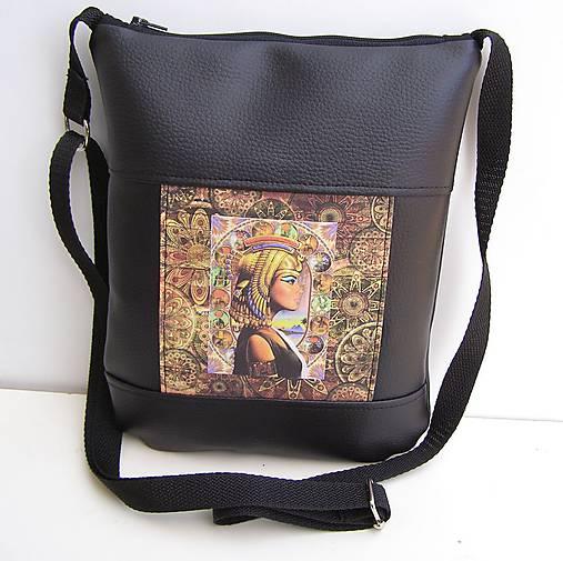 eaca665634 Čierna kabelka Egypt Crossbody   zu - SAShE.sk - Handmade Kabelky