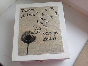 Krabičky - Krabička na čaj - 8040377_