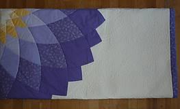Úžitkový textil - Patchworková deka DAHLIA - 8041909_