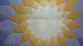 Úžitkový textil - Patchworková deka DAHLIA - 8042662_