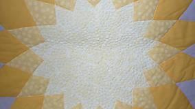 Úžitkový textil - Patchworková deka DAHLIA - 8042663_