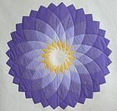 Úžitkový textil - Patchworková deka DAHLIA - 8042761_