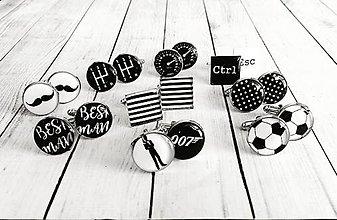 Šperky - Manžetové gombíky na objednávku :) - 8040225_