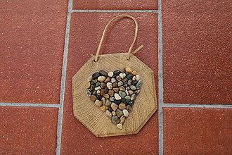 Obrázky - obrazok-kamenné srdce - 8041145_