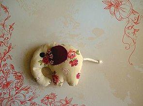 Kľúčenky - Slon romantický, priam indický - 8040384_