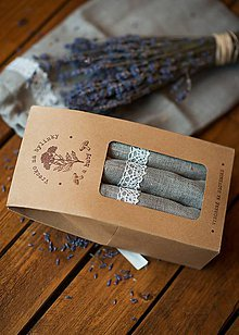Úžitkový textil - Vrecko na bylinky a huby - 8043265_
