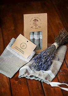 Úžitkový textil - MINI vrecká do domácnosti - 8043292_