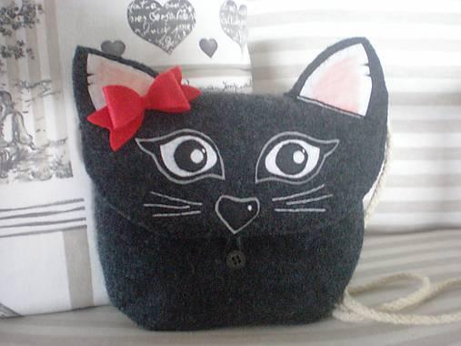 2d03652776 Detská kabelka Mačka   Mary Handmade - SAShE.sk - Handmade Detské tašky