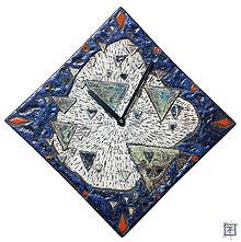 Dekorácie - Keramické nástenné hodiny - 8039999_