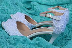 Obuv - Svadobné topánočky