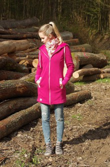 Kabáty - Nosičský kabátik motýle - 8040391_