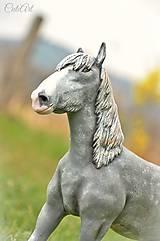 Šírsky kôň - socha podľa fotografie
