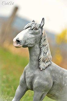 Socha - Šírsky kôň - socha podľa fotografie - 8042876_