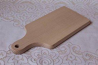 Polotovary - masívny drevený lopárik - 8041305_