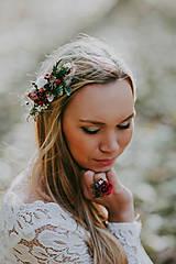 - Kvetinový boho hrebienok