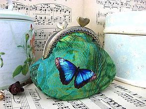 Peňaženky - Malá motýlovka - taštička - 8041375_