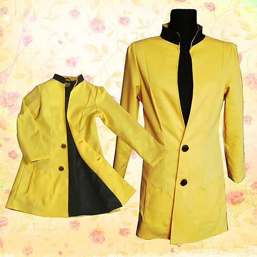 Žltý kabátik - na objednávku   nicusa - SAShE.sk - Handmade Kabáty 70cdf47e643