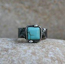 Prstene - Tyrkenit prsteň - 8043029_