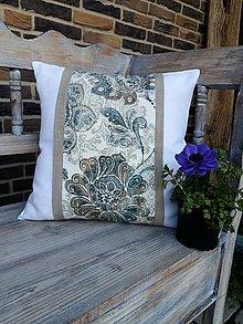 Úžitkový textil - Obliečka na vankúš Nature Romance I - 8042821_