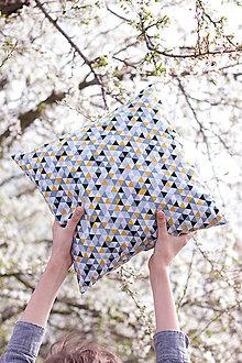 Úžitkový textil - Vankúšiky z našich látok - 8047301_