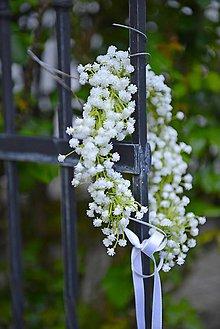 Ozdoby do vlasov - venček by michelle flowers - 8044097_