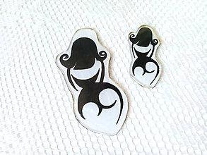 Odznaky/Brošne - Burlesque Girls brooches - 8044585_