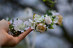 Ozdoby do vlasov - Svadba jarnej víly - 8044906_