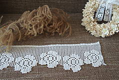 Úžitkový textil - vitrážka kvetinová - 8046187_