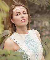 Mosadzná biela tiara - Rozkvitnutie VI.