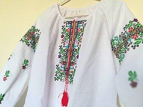 949da3a83c4e Košele - Vyšívaná dámska košeľa Sisi aj XXL - 8045970