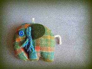Dekorácie - Hippie slon - 8043718_