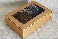 Obalový materiál - Čarovná krabička s priehľadným vrchom - 8047364_
