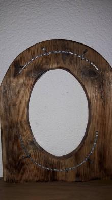 Rámiky - Rámik zo starého dreva - 8046948_