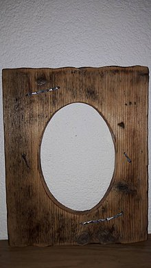 Rámiky - Rámik zo starého dreva - 8046979_