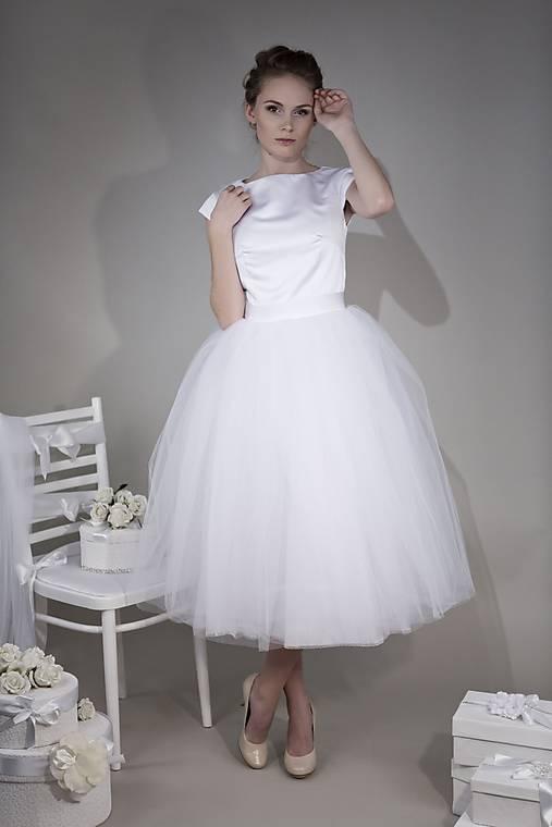 Svadobné šaty - výpredaj -50 %   LolaMilan - SAShE.sk - Handmade Šaty d493422d543