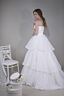 Šaty - Svadobné šaty - -80% - 8044008_