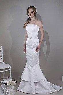 Šaty - VÝPREDAJ - -50% - Svadobné šaty - 8044109  5583b5a104f