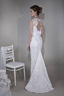 Šaty - VÝPREDAJ - -40% Svadobné šaty - 8044310_