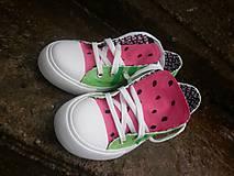 Obuv - melónové tenisky - 8043595_