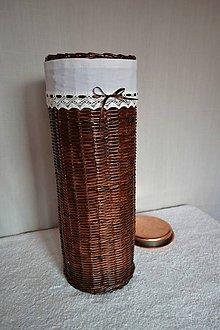 Košíky - Na dáždniky, s kovovou vložkou - 8045834_