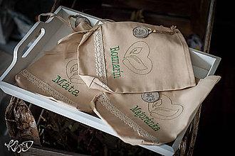 Úžitkový textil - Vrecká na bylinky No. 11 - 8050178_