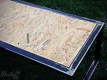 Nábytok - stolík INDUSTRY - 8047611_