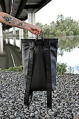 Batohy - Ruxak DREIECK schwarz koženka - 8048701_
