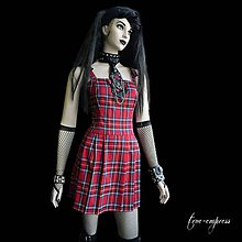 Šaty - Kárované šaty - 8047420_