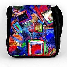 Iné tašky - Taška na plece L maľba 01 - 8049279_