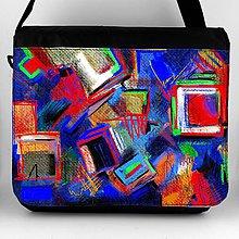 Iné tašky - Taška na plece XL  maľba 01 - 8049316_