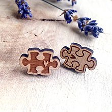 Náušnice - Puzzle - 8049750_