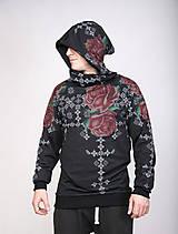 Mikiny - Rose´s Roses - pánska mikina - 8050463_